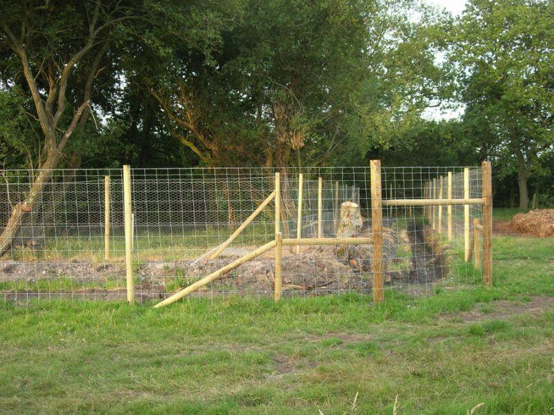 deer fencing